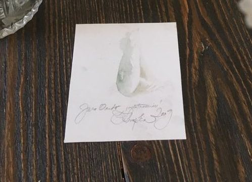 DRAŽBA Č.3 – Akvarel, k albumu Nebotrasenie (Jaro Ondo)