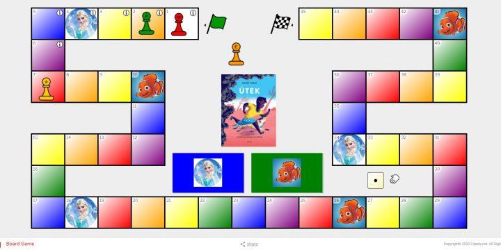 Flippity 2 (stolová hra na akékoľvek učivo ;o) alias skupinová práca v breakout rooms bez učiteľa