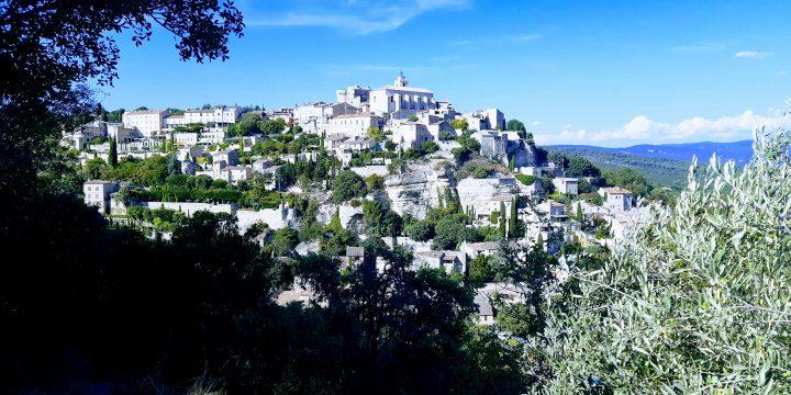 príJEMNÉ predpoludnie Arles, príJEMNÉ popoludnie Gordes!